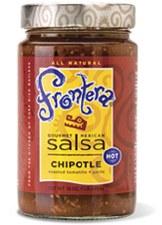 Frontera Hot Chipotle, Roasted Tomatillo + Garlic Gourmet Mexican Salsa, 16 oz.