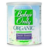 Baby's Only Organics Iron Fortified Organic Dairy Based Toddler Formula, 12.7 oz.