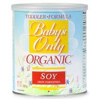 Baby's Only Organics Iron Fortified Orgainc Soy Toddler Formula, 12.7 oz.