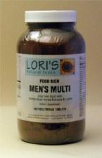 Lori's Multi Men 180 vegetarian tablets