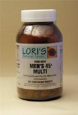 Lori's Mens 45+ Multi 180 capsules