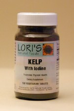 Lori's Iodine with Kelp 225mcg 100 tablets
