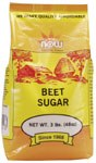 NOW Beet Sugar 3lb