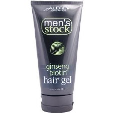 Aubrey Organics Men's Stock Ginseng Biotin Hair Gel 6oz