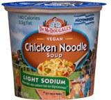 Dr. McDougall's Light Sodium Chicken Noodle Soup Vegan 2.1 oz