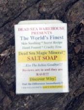 Dead Sea Warehouse Magic MIneral Salt Bar Soap 5.2 oz