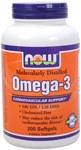NOW Omega3 1000mg 200 Soft Gels