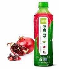 Alo Enrich Pomegranate & Cranberry Drink, 16.9 oz.