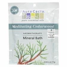 Aura Cacia Meditating Cedarwood Mineral Bath 2.5oz