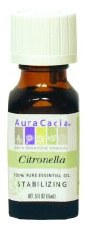 Aura Cacia Citronella Essential Oil .5 fl oz