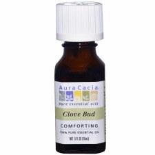 Aura Cacia Clove Bud Essential Oil .5 fl oz