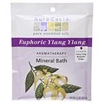Aura Cacia Euphoric Ylang Ylang Aromatherapy Mineral Bath, 2.5 oz.
