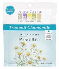 Aura Cacia Tranquil Chamomile Aromatherapy Mineral Bath, 2.5 oz.