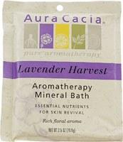 Aura Cacia Relaxing Lavender Aromatherapy Mineral Bath, 2.5 oz.