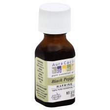 Aura Cacia Black Pepper Essential Oil, .5 oz.
