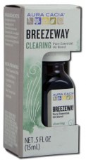Aura Cacia Breezeway Clearing Pure Essential Oil Blend, .5 fl. oz.