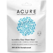 Acure Clear Sheet Mask, 1 oz.