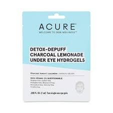 Acure Detox-Depuff Charcoal Lemonade Undereye Hydrogels, .236 oz.
