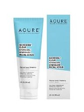 Acure Incredibly Clear Charcoal Lemonade Facial Scrub, 4 oz.