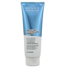 Acure Wave & Curl Color Wellness Shampoo, 8 oz.