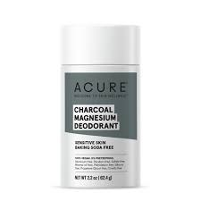 Acure Charcoal Magnesium Deodorant, 2.2. oz.