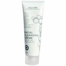 Acure Argan Oil & Mint Facial Cleansing Creme 4oz
