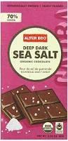 Alter Ego Organic Sea Salt Dark Chocolate, 2.82 oz.