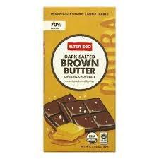 Alter Ego Organic Dark Brownie Chocolate, 2.82 oz.