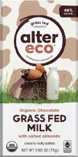Alter Eco Salted Almond Chocolate Milk, 2.65 oz.