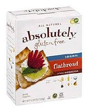 Absolutely Gluten Free Original Flatbread, 5.3 oz.
