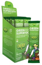 Amazing Grass Energy Lemon Lime Green SuperFood, 7 g. single serving packet