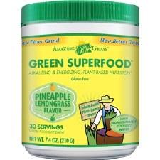 Amazing Grass Pineapple Lemongrass Green Superfood, 7.4 oz.