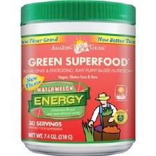 Amazing Grass Watermelon Energy Green Superfood, 7.4 oz.