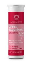 Amazing Grass Strawberry Lemonade Hydrate Superfood, 10 tablets