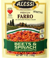 Alessi Farro with Beets, 7 oz.