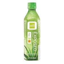 Alo Exposed Orginal Aloe Drink, 16.9 oz.