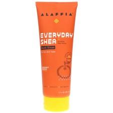 Alaffia Mandarin Shea Shave Cream, 8 oz.