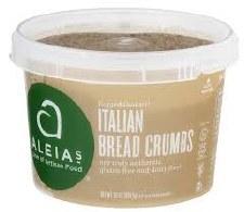 Aleia's Gluten Free Italian Breadcrumbs, 13 oz.