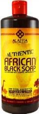 Alaffia Authentic African Black Soap - Tangerine Citrus 32 fl oz