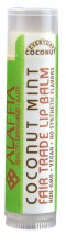 Alaffia Coconut Mint Lip Balm .15oz.