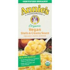 Annie's Creamy Vegan Shells, 6 oz.