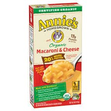 Annie's Homegrown Organic Macaroni & Cheese with Extra Protein, 6 oz.