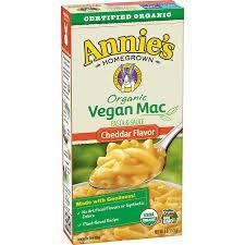 Annie's Homegrown Vegan Mac and Cheese, 6 oz.
