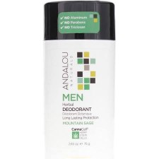 Andalou Mens Herbal CannaCell Mountain Sage Deodorant, 2.65 oz.