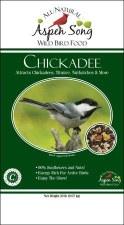 Aspen Song Chickadee Wild Bird Food, 20 lb.