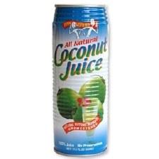Amy & Brian Natural Coconut Juice with No Pulp, 17.5 oz.