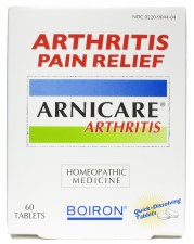 Boiron Arnicare Arthritis Pain Relief, 60 tablets