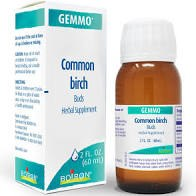 Boiron Gemmo Common Birch Buds Herbal Supplement, 2 oz.