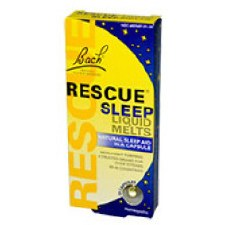 Bach Remedies Rescue Sleep Liquid Melts, 28 capsules