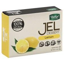 Bakol Lemon Jel Dessert, 3 oz.